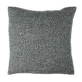 Schöner Wohnen Kissenhülle Kissenbezug Dekokissen Geschenkidee 40 x 40 cm grau-beige meliert