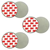 3X Magnethalterung Rauchmelder   3M Magnet Befestigung Magnethalter Halter Decke