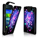 wicostar Vertikal Flip Style Handy Tasche Case Schutz Hülle Schale Motiv Etui Karte Halter für ZTE Blade L3 - Variante VER34 Design5