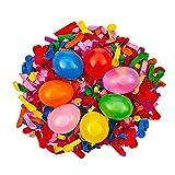 1000 Stück Wasserballons Bombe, Keine Notwendigkeit zu bündeln, Sommerfest Spaß Wasserbomben Ideal für Geburtstagsfeiern, Strand & Wasserspiele