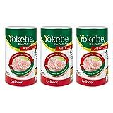 Yokebe Erdbeer Pulver 3X500 g