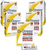 D-Stress Booster   Hoch assimiliertes Magnesium, Taurin, Arginin & B-Vitamine (Vitamine B6, B5, B3, B2)   Herkunft Frankreich   5er-Set