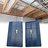 2 Stück Gipskartonplatten-Montagewerkzeug, Gipsplatten-Heber, unterstützt das Brett während der Installation an Ort und Stelle.