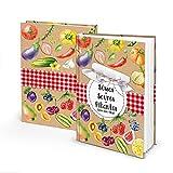 Logbuch-Verlag Rezeptbuch zum Selberschreiben Süßes - Saures - Pikantes - für eigene Rezepte zum Einwecken, Fermentieren & Einkochen DIN A5 bunt