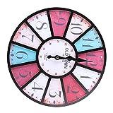 Voluxe Wanduhr, Badezimmeruhr Uhr Gute Handwerkskunst für Wohnzimmerdekoration für Heimtextilien(1#)