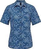 Jack Wolfskin Damen Matata Print Hemd, Ocean Wave All Over, S