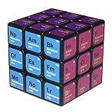 TiKiNi Chemischer Würfel 3. Ordnung, Multifunktionselement Periodensystem Magic Cube Würfel 3. Ordnung Lernformel Puzzlespiel Lernspielzeug für Kinder