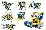RC Tecnic Solar-Roboter-Set Multibots | Sie können 11 Robots montieren | Roboterspielzeug fü