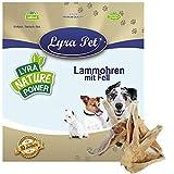 Lyra Pet® 300 STK. Lammohren mit Fell Kausnack Kauartikel Hundefutter Lammohr wie Rinderohr Leckerli