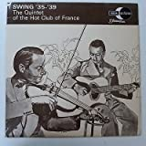 vinyl LP SWING 35-39 quintet of hot club france , grappelli / reinhardt