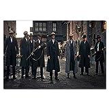 H/L Peaky Blinders Cillian Pbt Tv-Show Kunstplakat Leinwand Malerei Wandbild Wohnkultur Poster Und Drucke 50X70Cm (Ti-1660)