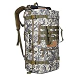TH&Meoostny Militär 3P Taktischer Rucksack Camping Taschen Bergsteiger Tasche Herren Wanderrucksack Reiserucksack Style 1 DS Other