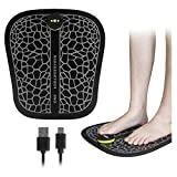 W&HH SHOP EMC Smart Fußmassage,Fußmassagematte Stimulator Massagegerät Mit Ganghöhenverstellung Und USB Charging Pad-Maschine Für Langfristiges Stehen