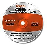 Open Office windows 10 deutsch Vollversion Windows 10 + 8 + 7 + Vsta + XP Powerpoint Präsentation Word Schreibprogramm Textverarbeitung Excel Tabellenkalkulation 2019