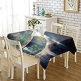 CYYyang Tischdecke Tischdecke Lotuseffekt Tischtücher Verdickter Persönlichkeitsdruck