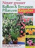 Neuer grosser Balkon- und Terrassenpflanzen-Ratgeber: Die 200 schönsten Balkon- und Terrassenpflanzen von A-Z. Mit Gärtnertipps und Pflegeanleitung