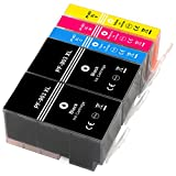 ESMOnline 5 kompatible XL Druckerpatronen (4 Farben) als Ersatz für HP 903 (NEUSTER CHIP) zu HP OfficeJet Pro 6960 6968 6970 6974 6975 6978 OfficeJet 6950 6951 6954 6956 6958