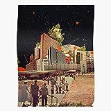 Generic Computer Road Surrealism Collage Software People Pop Surreal Vintage Home Decor Wandkunst drucken Poster !