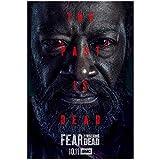 KONGQTE Lennie James Darsteller TV Fear The Walking Dead Staffel 6 (2020) TV-Cover Art Poster Leinwandmalerei Wohnkultur High Definition Poster Wohnzimmer -20x30 Zoll ohne Rahmen (50x75cm