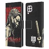Head Case Designs Offizielle AMC The Walking Dead Michonne Staffel 10 Darsteller Portraits Leder Brieftaschen Handyhülle Hülle Huelle kompatibel mit Huawei Nova 6 SE / P40 Lite