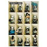 REINDERS Toilet.Cam 2 - Poster 61 x 91,5