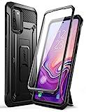 SUPCASE Outdoor Hülle für Samsung Galaxy S20 FE (6.5') 5G Handyhülle Bumper Case 360 Grad Schutzhülle [Unicorn Beetle Pro] mit Displayschutz, Schw
