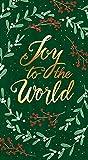 Weihnachtshandtücher Dekorative Papierhandtücher für Weihnachten Badezimmer Dekor Gästetücher Einweg Joy Greenery Pak 24