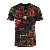 CXDS Herren T-Shirt Kurzarm V-Ausschnitt Slim Fit Fitness Freizeit Shirt Sport T-Shirts Herren Tanktop äRmellos 4XL