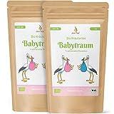 JoviTea® Babytraum Tee BIO 2er Sparset – Traditionelle Rezeptur - spezielle Kräutermischung – aus kontrolliert biologischem Anbau. 100% natürlich und ohne Zusatz von Zucker - 2x75g