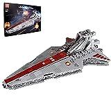 KEAYO Technik Raumkreuzer Modell, Mould King 21005, 6685 Teile Sternenzerstörer Angriffskreuzer Groß MOC Klemmbausteine Set Kompatibel mit Lego Star Wars