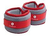 Gewichtsmanschetten PAAR - 2x 500g - Hand- und Fuß-Gewichte - 'Aqua Band'