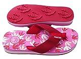 Animal Traks Flip Flop, klein, Rot / Pink