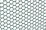 GAH-Alberts 614249 Sechseckgeflecht | verschiedene Längen und Höhen - wahlweise in verschiedenen Farben | grün | Maschen 25 x 25 mm | Höhe 100 cm | Länge 10 m
