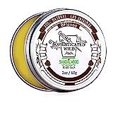 BFWood Sandelholz-Geruch Bart-Balsam für Männer 60g – Zähmt, spendet Feuchtigkeit, pflegt Ihren Bart,MEHRWEG