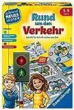 Ravensburger Kinderspiele Verkehrsspiel: Rund um den Verkehr Ravensburger Lernspiel 24997-Lernspiel 24997, Kinderspiel, ab 5 Jahren, für 2-4 Sp