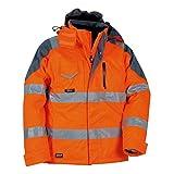 Cofra S.r.l. V017-0-01.Z56 Polsterjacke Rescue, ORANGE FLU/ANTRAC, 56