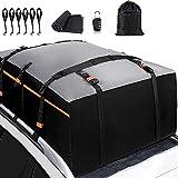 AXB Faltbare Auto-Gepäcktasche, Auto-Dachtasche wasserdichte Auto-Dachboxen Dachgepäckträger Tasche Geeignet für Reisen und alle Fahrzeuge