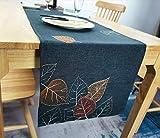 Extra Something ®- Premium Tischläufer Herbst | Hochwertige Tischdecke herbstlich 40x150 cm | qualitative Herbstdecke aus Stoff für das Wohnzimmer | Tischdecke hat Fleckschutz und ist abwaschbar