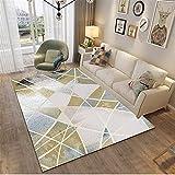 MMHJS Home Nordic Style Wohnzimmer Teppich Einfach Und Atmosphärisch Rechteckig Großer Teppich Weich Und Hautfreundlich 80x160
