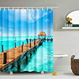 X-Labor Bunt Baum Duschvorhang 240x200cm Anti-Schimmel Wasserdicht Polyester Textil Stoff Badewannevorhang Shower Curtain 240 * 200cm M