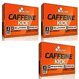 CAFFEINE KICK | Energiepillen | Bekämpft Müdigkeit | Bessere Stimmung | Unterstützt die Fettverbrennung Wachheit und Erwachen (180 Kapseln)