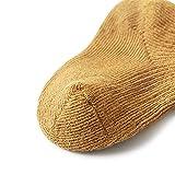 JSJJAUJ Socken 3 Paare Baby mädchen Junge socken Kleinkind Baumwolle Baby Winter Kleidung zubehör Reine Farbe gekämmte Baumwolle babysocken für Herbst 2020 (Color : F, Kid Size : XS(0 6M))