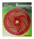 Kawapower KW00540 Widia Sägeblatt mit 40 Aufsätzen für M