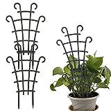 æ— 8 Stück Rankgitter für Topfpflanzen Garten Rankhilfe Rankhilfe Rankhilfe kleine Pflanzen Rankgitter für Kletterpflanzen Rebe Gemüse Topfg