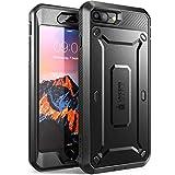 Supcase iPhone 7 Plus Hülle [Unicorn Beetle PRO] Handyhülle Case für iPhone 7 Plus/iPhone 8 Plus, Schw