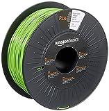Amazon Basics 3D-Drucker-Filament aus PLA-Kunststoff, 1,75 mm, Knallgrün, 1-kg-Spule