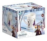 Disney Frozen II 680760 Becher zum Selbstbemalen: Tasse zum Ausmalen von Frozen II Motiven, 6 verschiedene Farben, Pinsel