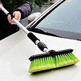 hsj Autowäsche, Pinsel, Mopp, Wasserspray, Teleskopauto, Auto mit weichen Borsten reinigen (Color : A)