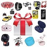 ZDSKSH Mystery Box Electronic, Mystery Gift Box Für Kinder Erwachsene, Überraschungspaket Restposten Paket Electronic, Zufällig Lucky Box