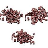 Hicollie 300 Electric Pen Nagel Schleifbänder Schleifkappen Nageldesign Fräser Schleifhülsen 80' 120' 180' Bits Maniküre Kit Set schleifwalzen für elektrische nagelfeile
